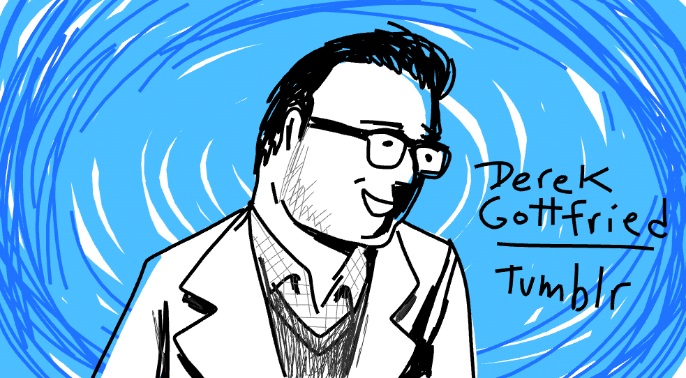 @derekg discusses Tumblr's shift into monetization. #pivotcon #doodlely