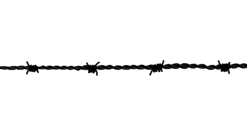 Barbed wire doodle ly