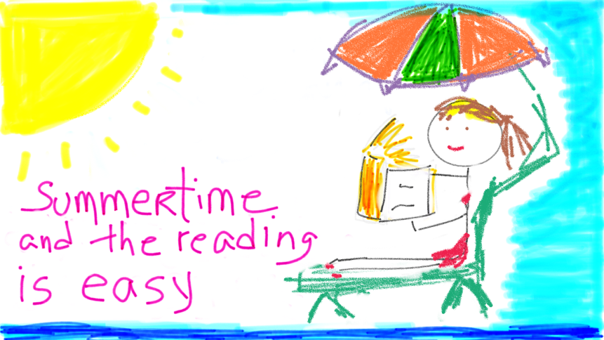 Summertime and the reading is easy