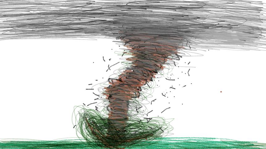 Tornado wrath #tornado #storm #weather #twister #sky # ...