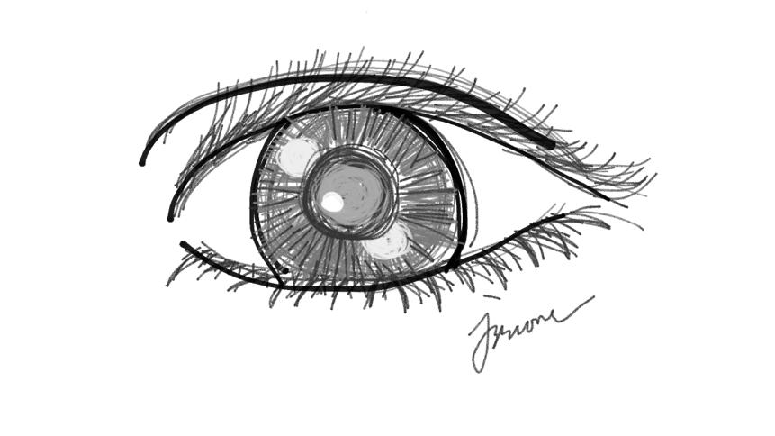 Newbie Sketch Eyes Doodle Ly