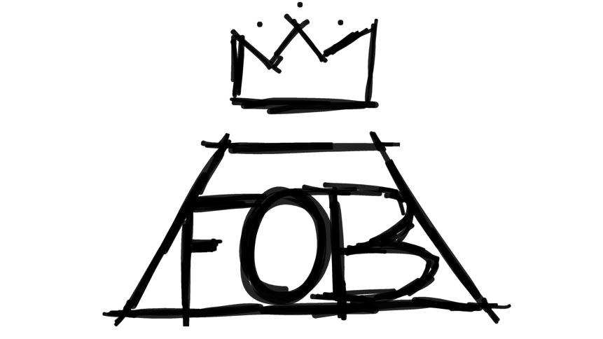 fall out boy logo doodlely