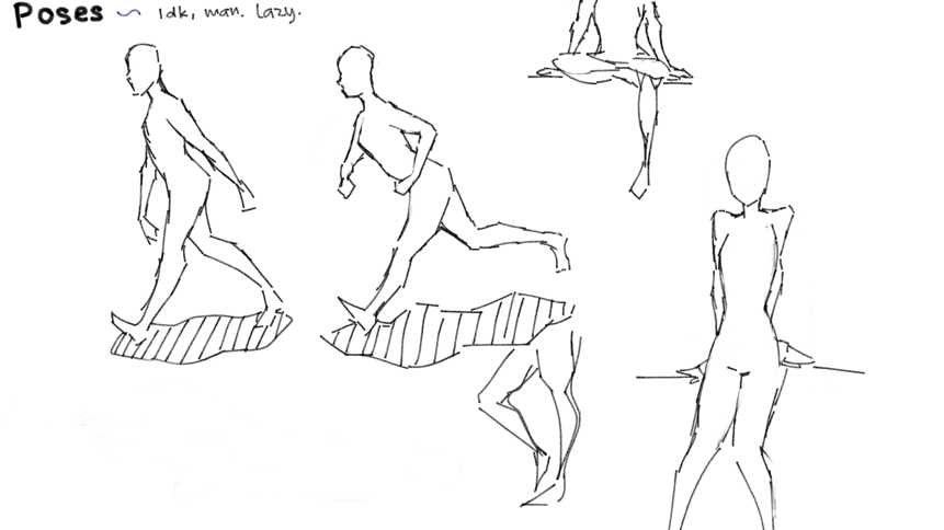 Random Anatomy Doodles Legs Are Fun To Draw Ive Seen The