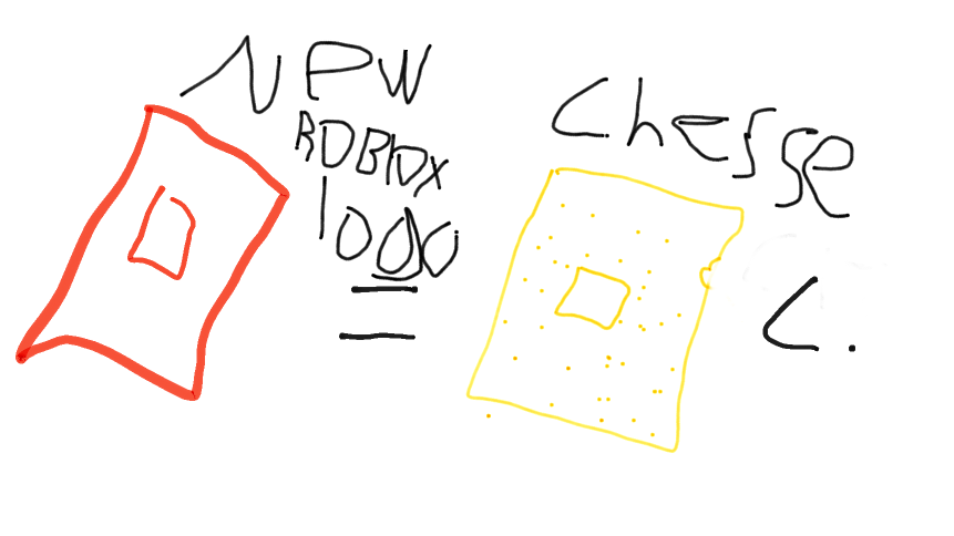 new roblox logo = chesse creaker