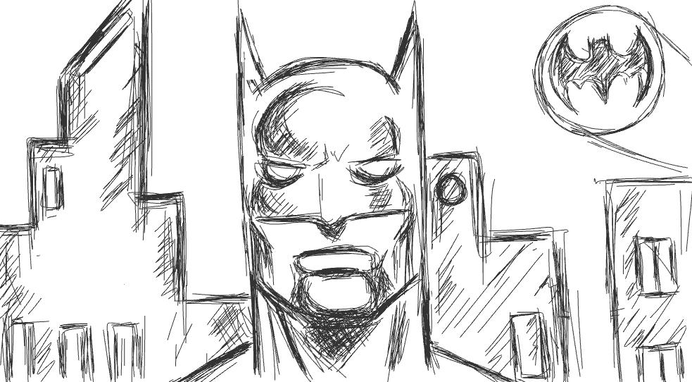 Im Batman Doodlely